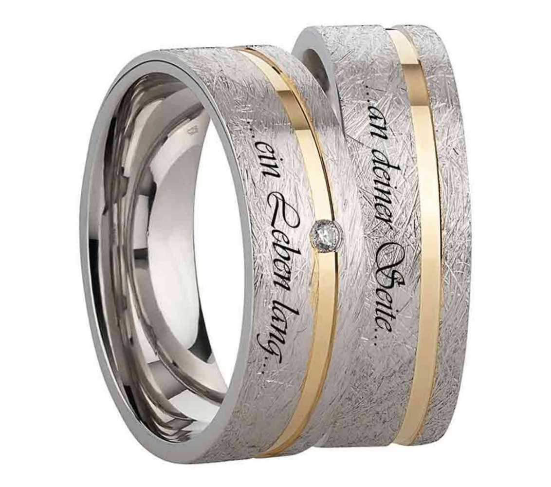 Verlobungsringe aus Silber SR990-SR991g